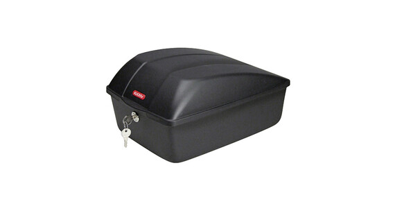KlickFix Bike Box Styrkurv 12 L til Racktime sort